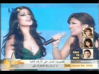 Haifa Wehbe Badi 3eesh Star Academy 4 HQ