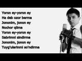 Shoxrux - Yoron Ey [DMD Studio]