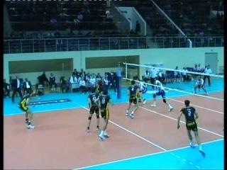 Волейбол ЗЕНИТ - Казань  СКРА Белхатов Польша 3 партия