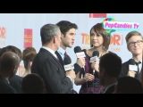 Darren Criss & Adam Shankman with media at The Trevor Projects 2012 in Hollywood