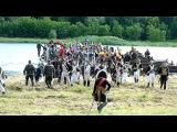 Napoleono karių persikėlimo per Nemuną Kaune 1812 inscenizacija