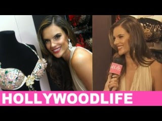 Alessandra Ambrosio Talks 2012 Victoria's Secret Fantasy Bra
