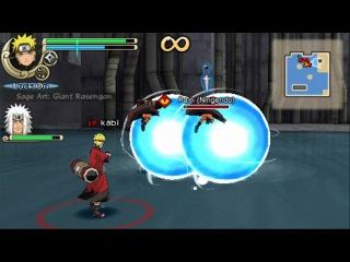 Naruto and Jiraya Vs Pain - Naruto Shippuden Ultimate Ninja impact