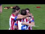 Atlético de Madri vs Viktoria Pilsen 1-0 Goal Rodriguez Europa League 04-10-2012