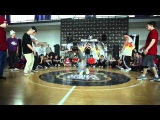 TimOne&Plastilin&Crazy VS Kate&Serg&Gadget @ Burn Battle School Tour Kharkiv