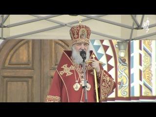 Патриарх Кирилл принял участие в Георгиевском параде (2012)
