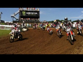 How many Motocross riders at British Motocross GP 2012
