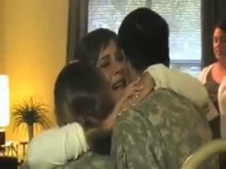 Неожиданное возвращение солдат домой mp4
