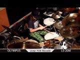 Igor Falecki drummer you tube groove Igor 's style (10 y old) olympus ls 20