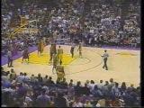 Dennis Rodman vs Kurt Thomas and Shaq Dunks on Chris Dudley Knicks vs Lakers game from 1999