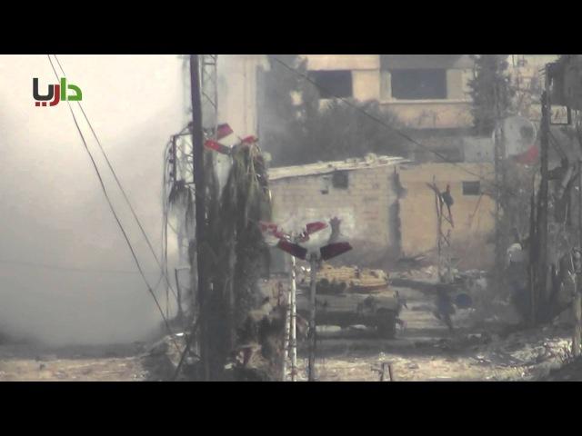 هــام :: هروب عناصر الأسد من المدينة داريا 28-12-2012