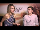The Lucky One Zac Efron and Taylor Schilling Raw Interview
