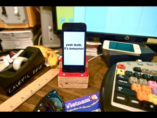 Build an iPhone 5 dock for $1
