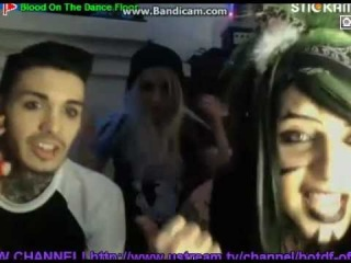 Blood On The Dance Floor Live On Stickam! 01/31/13 1/3