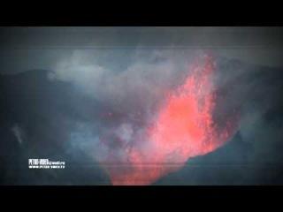 извержение вулкана Плоский Толбачик ( Камчатка, декабрь 2012)