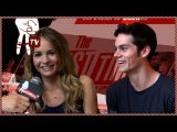 Dylan O'Brien and Britt Robertson Talk First Times - Awesomeness Hollywood