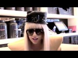 Lady Gaga in London : Cafe interview (Rare old vintage footage)
