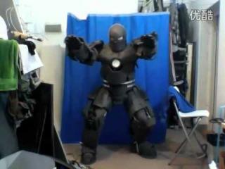 Ultra-realistic Homemade Iron Man Suit Beta