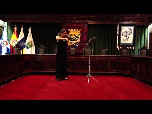 L.-T.Milandre, 'Est-il un destin plus doux', Anfisa Kalinina - Viola d'Amore
