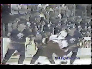 Buffalo Sabres vs Detroit Red Wings Line Brawl
