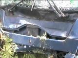 Пассажирский автобус вылетел в кювет в Вологодской области