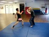 Donnie B Basic Muay Boran Kick Defense Techniques