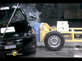 5 звезд- краш-тест нового Chevrolet Aveo 2012