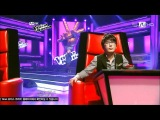 120224 Son Seung Yeon Sings 2NE1s Go Away on MNETs The Voice Korea