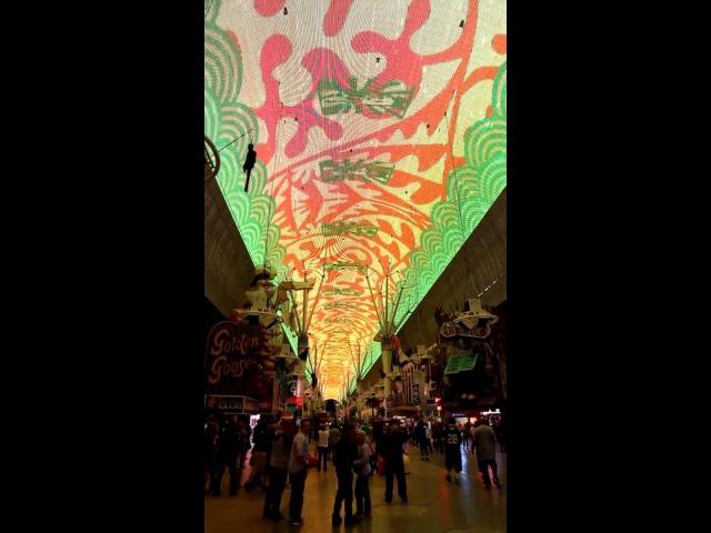 Las Vegas downtown - Fremont street experience, Light Sound Show