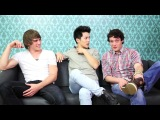 Glee Project Interview With Blake Jenner, Abraham Lim and Charlie Lubeck