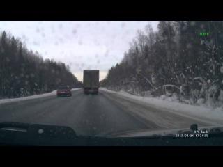 24 февраля около 17:30 на 733-м километре трассы Сыктывкар — Чебоксары