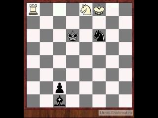 Уроки шахмат  - Шахматный этюд 2