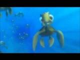 FIN,NOGGIN,DUUDEEE!!!! - Finding Nemo (Crush & Squirt)