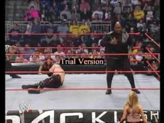 Backlash 05 - Kane w/Lita vs Viscera w/Trish - 1/2