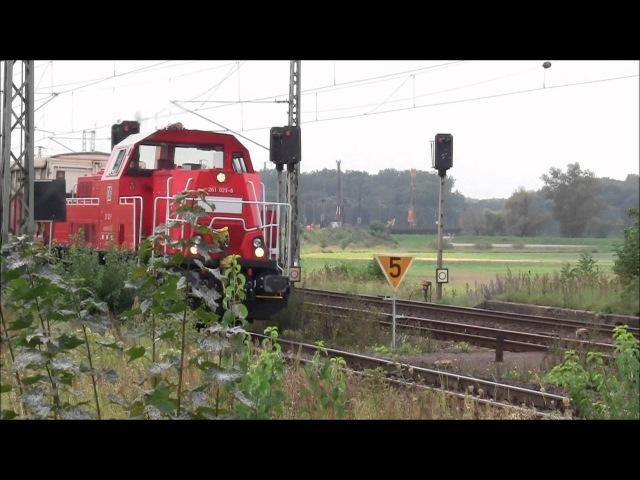 Gravita, Doppeltraktionen, DB, MRCE, Croissrail und mehr in Biederitz vom 01.09.2011