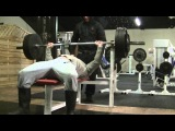 200KG 440LB 5 Reps Raw Bench Press 60 Years Old