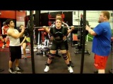 Sabrina Rodriguez 132 Powerlifting Training 01/06/13 @ BAG
