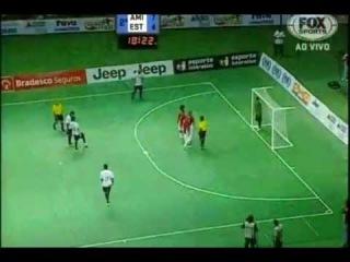 Amazing Gol Falcao - Futsal - FALCÃO FAZ GOL INCRÍVEL