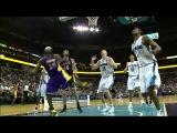 Hornets vs Lakers.2012.03.14 Kobe Bryant 33 pts,4 reb,5 Ast,2 st,11-11 Ft