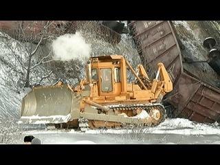 В Иркутской области частично восстановлено движение на Транссибе после крупной аварии - Первый канал