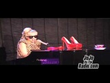 Lady GaGa Performes an Acoustic Version of,