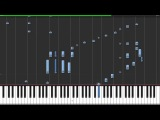 Adele - Skyfall - Acoustic Piano w SynthesiaGuitarBassDrumsVocals &amp Advanced Piano Solo Cover