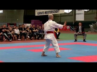 DM KARATE 2012 DKV Kata Einzel Herren Ilja Smorgun vs. Timo Gißler