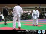 XIII Karate Italian Open 2012 Final Male 75 Kg. Luigi Busà Vs. Halim Nizar