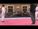2012 USA-NKF US Open Elite Kumite -61 Kg France Natalie Williams vs USA Eimi Kurita