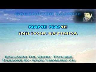 TURKISH KARAOKE BUL GETIR (SACLARINI YOL GETIR)