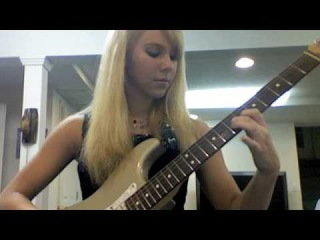Mr. Crowley guitar solo (Ariel 15 years old)