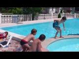 После купания.Спортивная школа на Азовском море