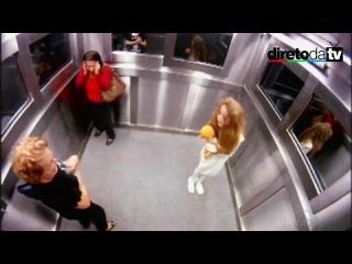 Розыгрыш призрак девочки в лифте,  это уже не смешно