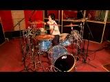 Парень без рук играет на барабанах песню Криса Томлина /Indescribable - Chris Tomlin drum cover